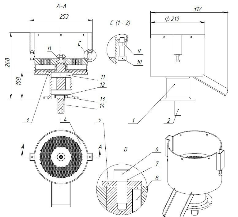 гранулятор для пеллет своими руками чертежи