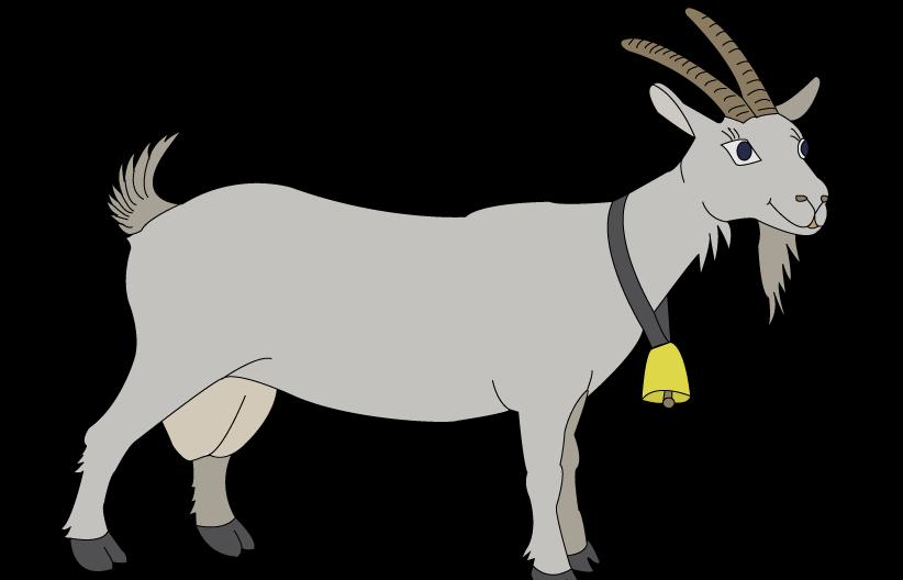 коза растровый рисунок