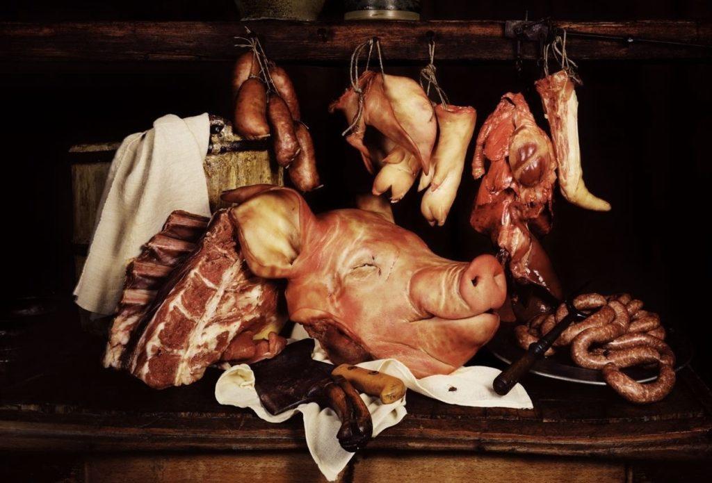 правильно разрубить свинину для продажи