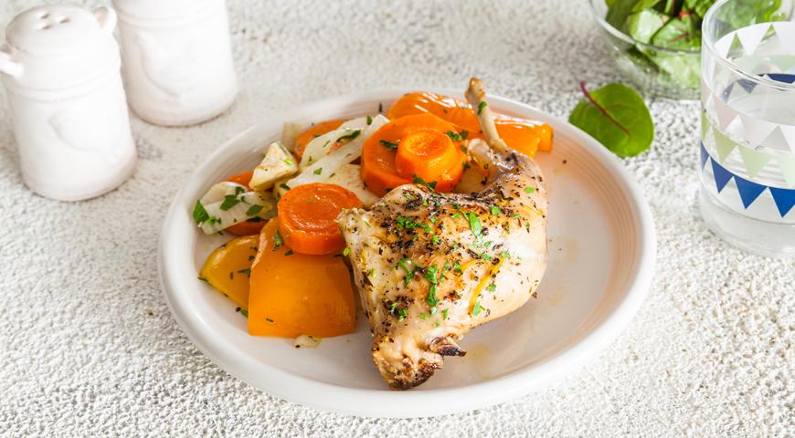 Кролик, тушенный с овощами, пошаговый рецепт с фото
