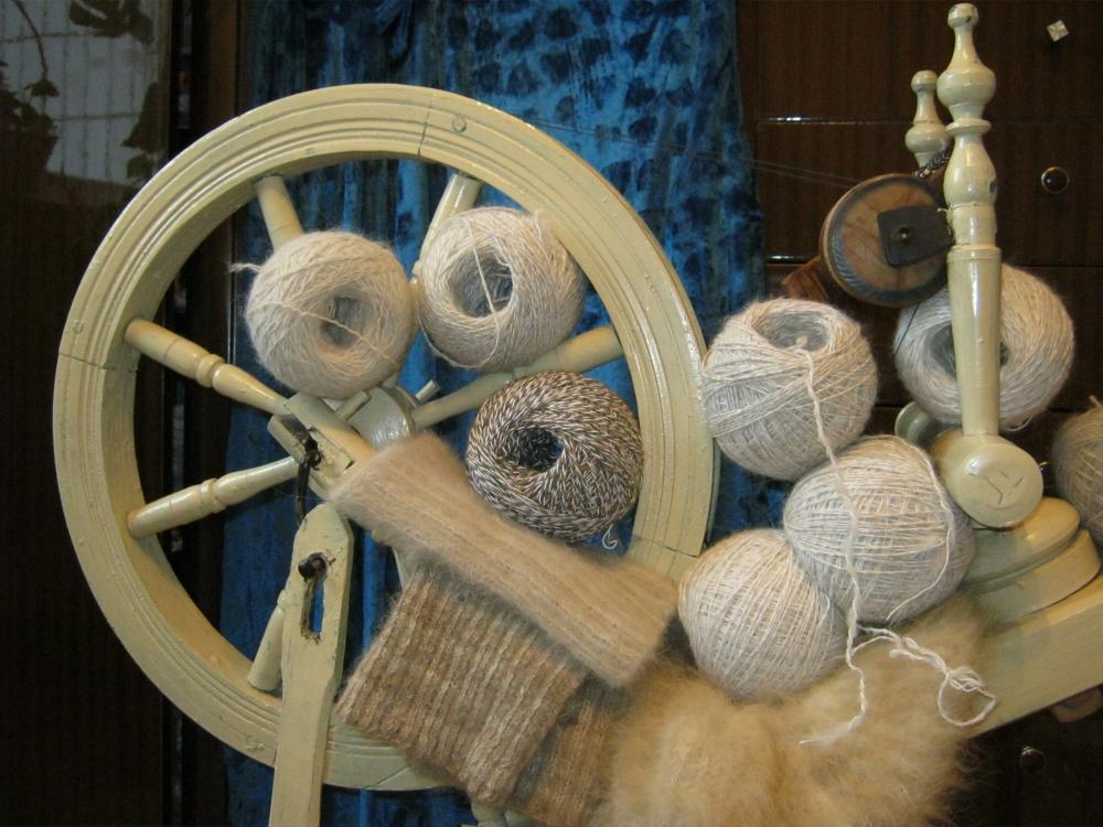обработка шерсти