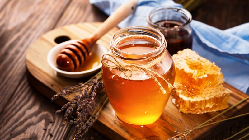 мед из дягиля