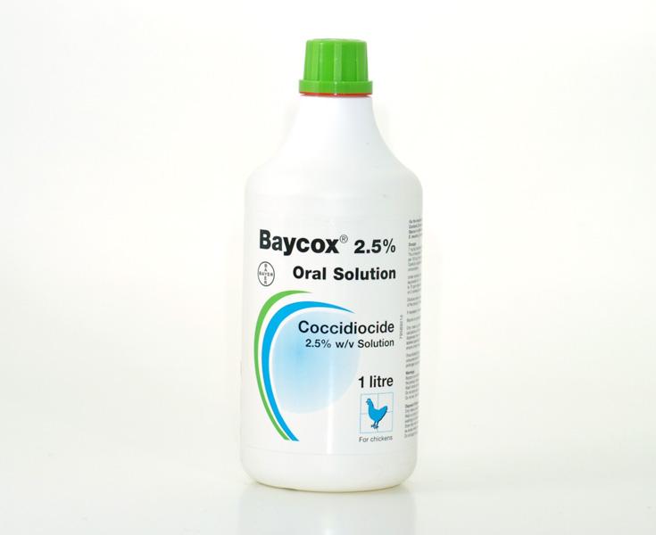 Байкокс 2,5% 1000 ml — ZooFarmAgro